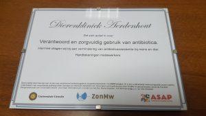 dierenkliniek, aerdenhout, antibiotica